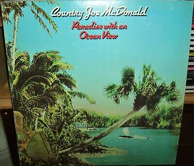 Country Joe McDonald Paradise With An Ocean View Play Graded Fantasy GF LP • 0.91£