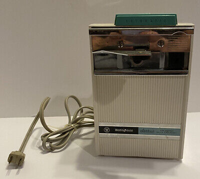 $ CDN100.70 • Buy Vtg 60's Turquoise Westinghouse Automatic Electric Can Opener Knife Sharpener