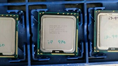 $ CDN78.54 • Buy Intel Core I7-970 3.20GHz Six-Core Processor SLBVF - LGA1366
