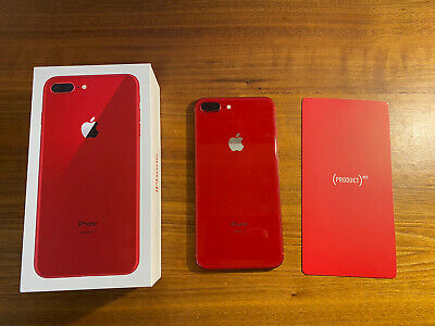 AU450.54 • Buy Apple IPhone 8 Plus (PRODUCT)RED - 256GB - (Unlocked) A1897