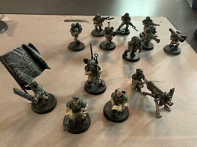 £10.50 • Buy Astra Militarum Cadian Troops Command Job Lot Painted Imperial Guard Kill Team