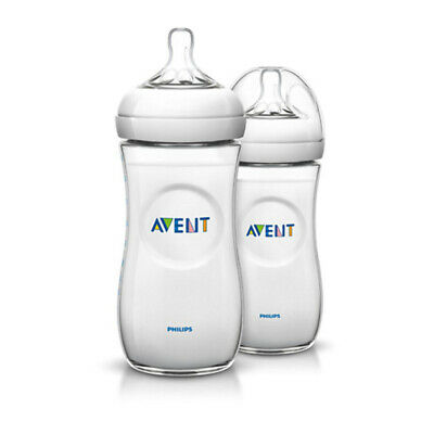 AU34.43 • Buy Philips Avent Natural Bottle 330ml Twin Pack
