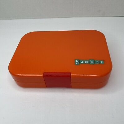 AU20.03 • Buy Yumbox Leakproof Bento Lunch Box Orange Container For Kids Snacks Meal Divided