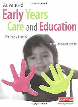 £10.29 • Buy Advanced Early Years Care And Education Paperback Vicky Cortvreind