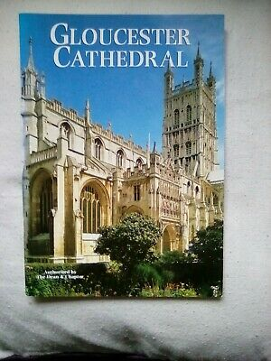 Gloucester Cathedral Pitkin Visitors Guide V G Condition Reprinted Edition 1994 • 1.49£