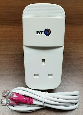 £14.89 • Buy 1 X BT Mini Connector 1GB 1000Mbps Powerline Adapter + 1 X Cat5e Ethernet Cable