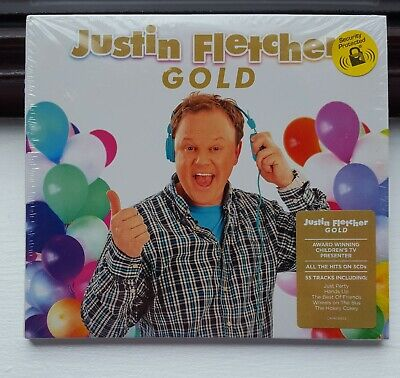 £7.99 • Buy JUSTIN FLETCHER / MR TUMBLE - Gold - The Best Of Childrens Songs CD New / Sealed