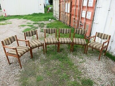 AU150 • Buy 6 Mid Century Dining Chairs