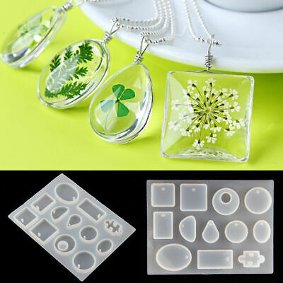 £2.99 • Buy Silicone Pendant Mold Making Jewelry Tool For Resin Necklace Mould Casting Craft