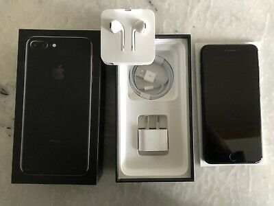 AU181.38 • Buy IPhone 7 Plus, 128GB, Jet Black Excellent Used Condition - Like New