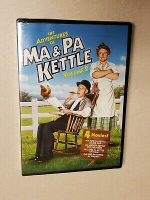 $13.95 • Buy The Adventures Of Ma And Pa Kettle - Volume 2 (DVD, 2011, 2-Disc Set)