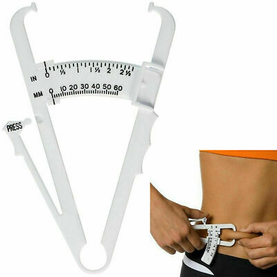 £2.99 • Buy Body Fat Tester Calipers Weight Loss Fitness Health Charts Manual Slimming Diet
