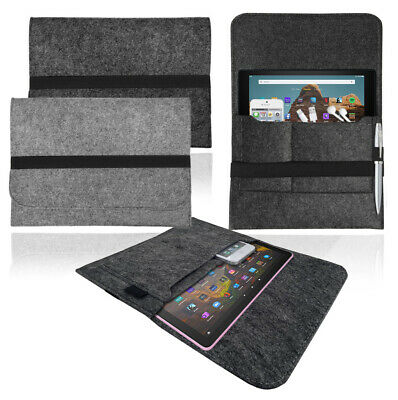 £5.95 • Buy Felt Sleeve Travel Carry Case Cover Pouch Bag For AMAZON KINDLE FIRE Tablets