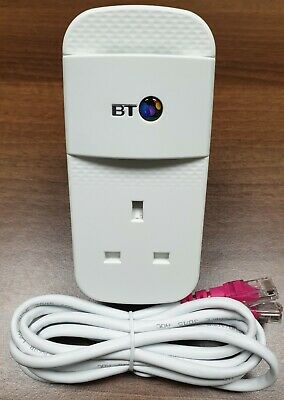 £14.95 • Buy 1 X BT Mini Connector VERSION 2 Gig Powerline Adapter + 1 X Ethernet Cable