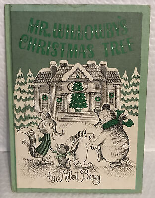 $ CDN12.13 • Buy Vintage Mr. Willowby's Christmas Tree By Robert Barry Weekly Reader Children's
