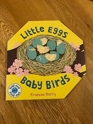 £5.99 • Buy Little Eggs Baby Birds A Fold Out & Find Out Book By Frances Barry