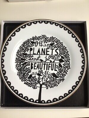 £40 • Buy Rob Ryan Plate Other Planets Cannot Be As Beautiful As This One
