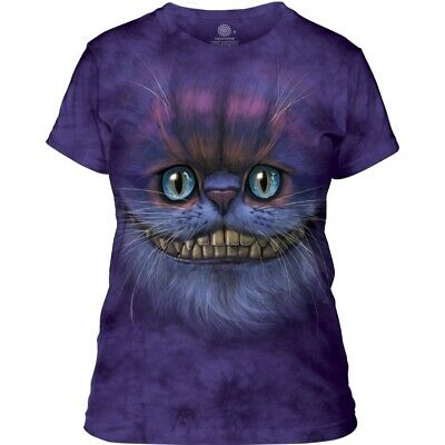 £24.99 • Buy The Mountain Big Face Cheshire Cat Ladies Fantasy T Shirt Size Medium