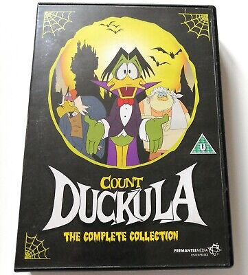 £64.99 • Buy Count Duckula DVD Box Set Complete Series Collection 1 2 3 Cult Comedy Cartoon