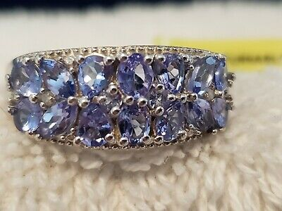 £34.62 • Buy Tanzanite Sterling Silver Ring - Size 8