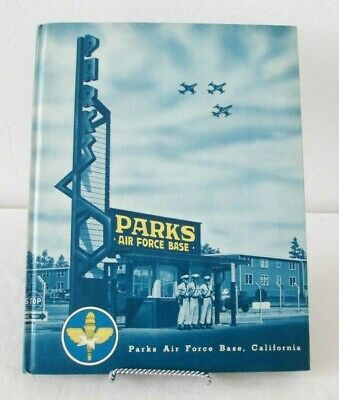 $40 • Buy Vintage1955 US Air Force 3275th Basic Military Training Group Parks AFB Yearbook