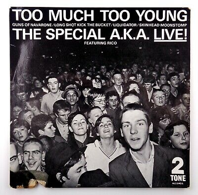 £4.99 • Buy The Special AKA - Too Much Too Young (Live) - 7  45 VG+ TWO TONE