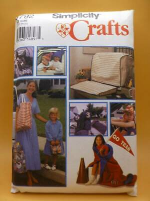 £4.95 • Buy Simplicity 8792 Covers+bags+hats+roll-up Mat-storage Sewing Pattern-11 Items