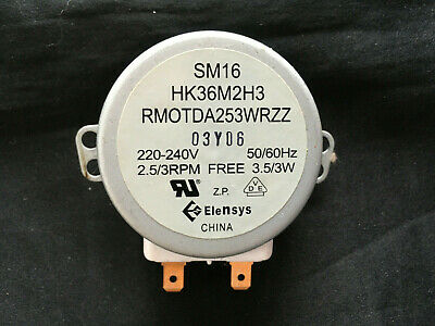 £9.99 • Buy Sharp Model R254 Microwave Oven Synchronous Drive Motor