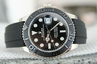 $ CDN37447.97 • Buy Rolex 226659 Yacht-Master 42mm Oysterflex White Gold Watch! Boxes + Papers! WOW!