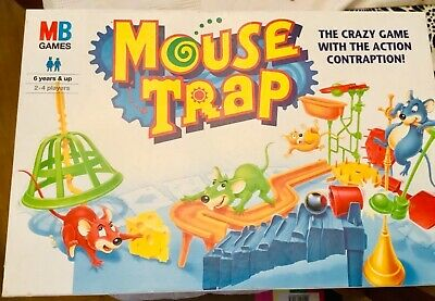 £2.99 • Buy MB Games Mouse Trap Vintage Board Game Vgc. Old Fashioned Family Fun!