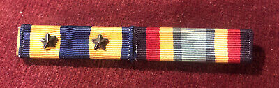 £4.99 • Buy US Medal Ribbons Air Medal 2 Campaign Stars & Sea Service Deployment Military