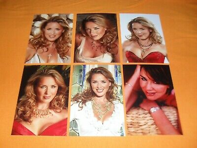 £6 • Buy Claire Sweeney 6x4 Photograph Set. Tv Brookside Candy Cabs Holby City Benidorm