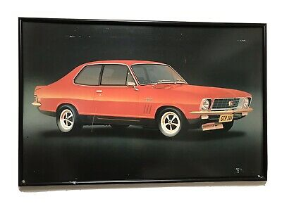 AU100 • Buy LJ Holden Torana GTR XU1 Framed Picture May Suit LC LH LX