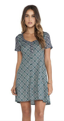 AU42 • Buy TIGERLILY Gorgeous Green Grimaud Printed Short Sleeve Dress Size 8