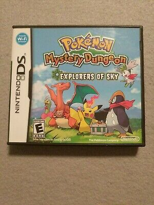 $139.99 • Buy Pokemon Mystery Dungeon: Explorers Of Sky (DS, 2009) Complete