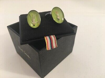 £25 • Buy NEW Paul Smith Golf Characters Figures Cufflinks With Box FREEPOST £125 BARGAIN!