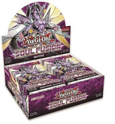 £54.99 • Buy YuGiOh Soul Fusion Sealed Booster Box Of 24 Packs   1st Edition   YGO TCG