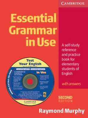 £11.33 • Buy Essential Grammar In Use With Answers : A Self-Study Reference And Practice Book