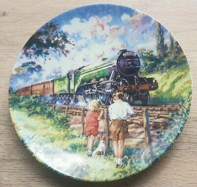 £7.49 • Buy Collectors Railway Plate  The Flying Scotsman