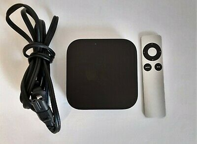 AU60.13 • Buy Apple TV (3rd Gen) A1469 Media Streaming Device With Genuine Apple Remote A1156