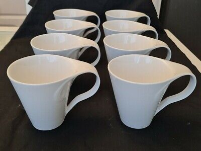 £44.99 • Buy Set Of 8 Expresso Coffee Cups New Wave By Symphony Stunning Modern