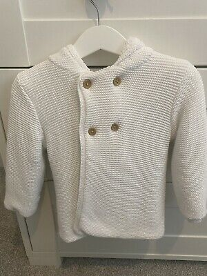 £5 • Buy George At Asda Billie Faiers Baby Cardigan In White Size 12-18 Months Fur Lined