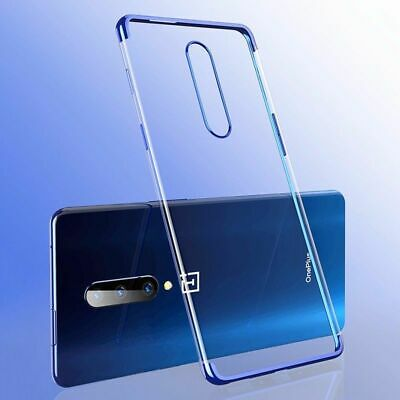AU10.29 • Buy Soft Clear Phone Case For Oneplus Models Silicone Cover  Electroplate Shockproof