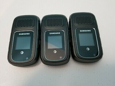 $ CDN112.04 • Buy Lot Of 3 Samsung Rugby III SGH-A997 AT&T GSM Unlocked Cellular Phone Very Good