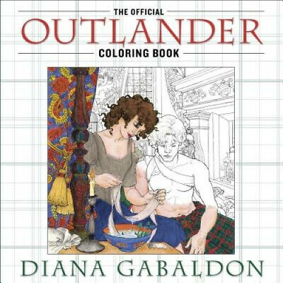 AU23.46 • Buy The Official Outlander Coloring Book: An Adult Coloring Book (Outlander)
