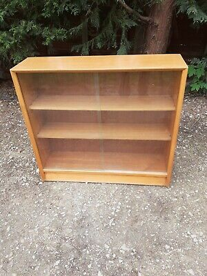 £35 • Buy Mid Century Glass Fronted Book Case