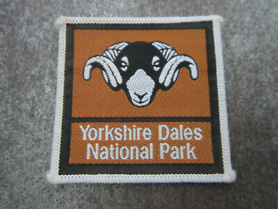 £3.99 • Buy Yorkshire Dales National Park Woven Cloth Patch Badge (L46S)