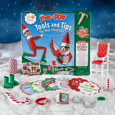 £15 • Buy Official The Elf On The Shelf® Scout Elves At Play Accessories**DAMAGED BOX **