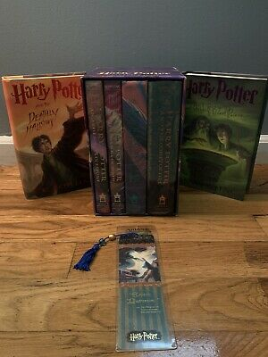 $ CDN45.97 • Buy Harry Potter Book Set Lot 1,2,3,4,6,7 J.K. Rowling Hardcover