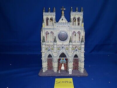 $ CDN21.85 • Buy Lemax Village Collection St. Patrick's Cathedral Facade #95916 As Is SC0142